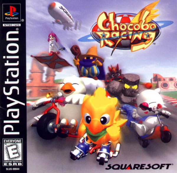 Chocobo Racing [U] Front Cover